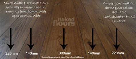 mixed width wood flooring