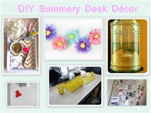 decorating desk for office inspiration 6 summery diy desk d 233 cor projects
