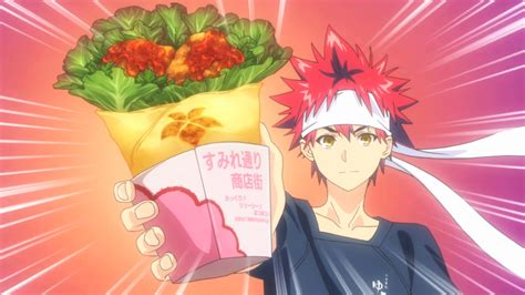 anime about cooking anime review food wars
