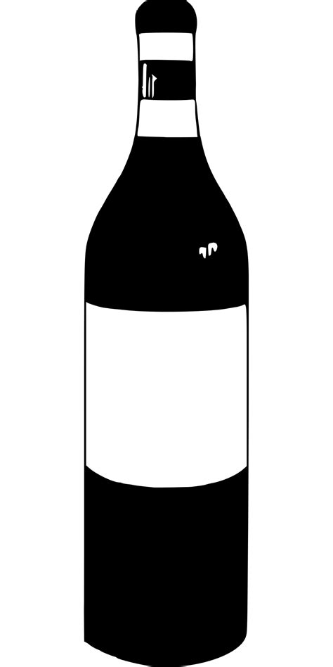 Bottle Of Wine Photo Prop Template Free Printable Papercraft Templates Wine Bottle Template
