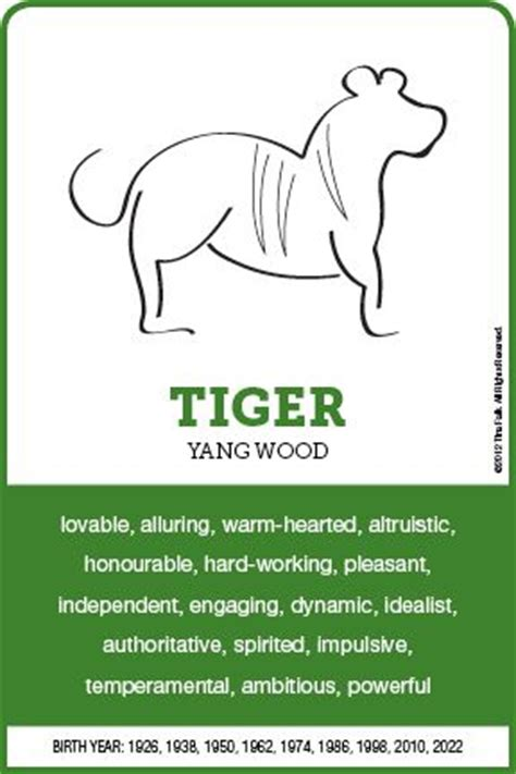 the tiger personality chinese astrology pinterest