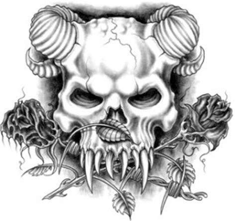 demon skull tattoos tattoos and designs page 190