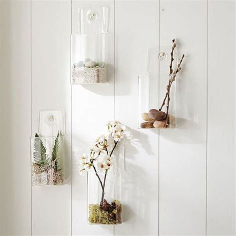 Wall Glass Vase by Beautiful Wall Mounted Vases Wall Vases
