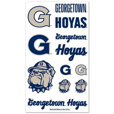 georgetown tattoo georgetown hoyas temporary tattoos