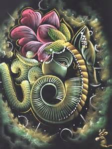 Ganesh On Lotus Lotus Ganesha
