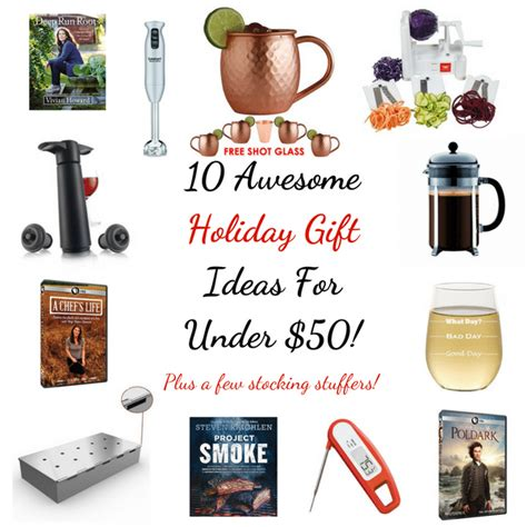 10 awesome holiday gift ideas for under 50 taste and see