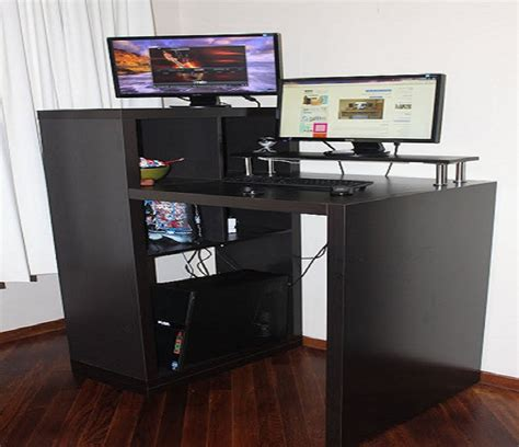 Standing Computer Desk Ikea Black Stand Up Computer Desk Ikea Adjustable Stand Up Desk Stand Up Desk Conversion Home Design