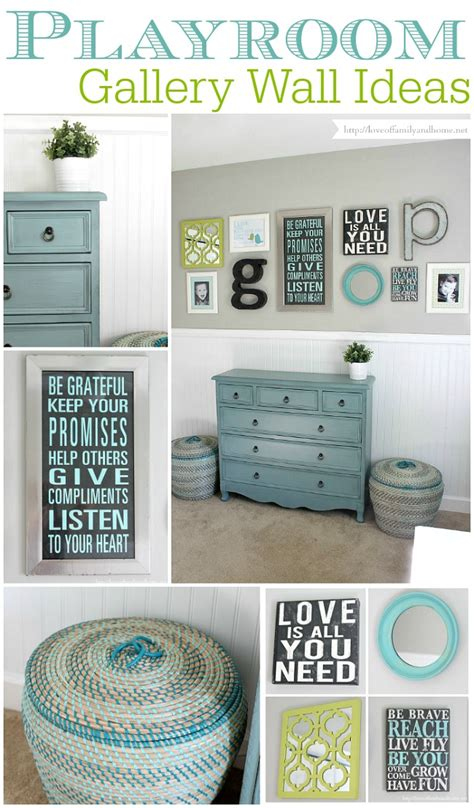 Southern Living Home Decor Party by Playroom Gallery Wall Playroom Update Love Of Family
