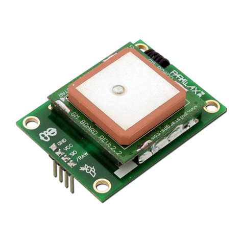 Board X16 Gps Sett Include Gps Module gps module 28146 from parallax sector67