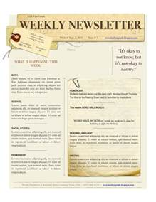 weekly bulletin template 39 best church newsletter images on