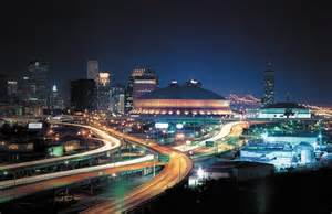Mercedes Superdome Capacity The Mercedes Superdome In New Orleans Louisiana