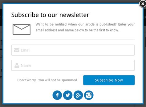 subscription email template email subscription popup extensions