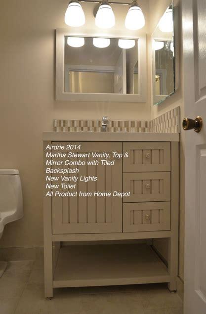 calgary bathroom vanity installation replacement bath