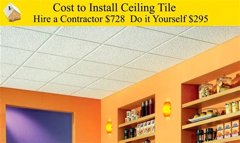 ceiling tile installation cost discoverchrysalis com