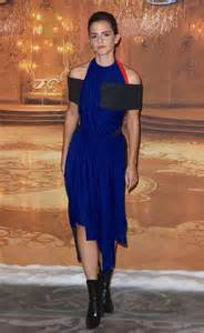 Emma watson wore most un belle dress to beauty and the beast photocall