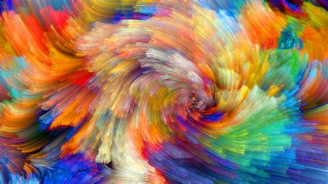 vibrant wallpaper wallpaper vibrant colorful bloom fractals textures 5k