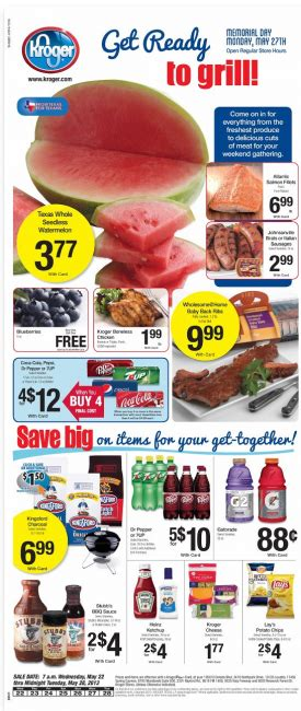 kroger weekly deals and coupon matchups feb 5th 11th kroger weekly deals and coupon matchups 5 22 13 mylitter