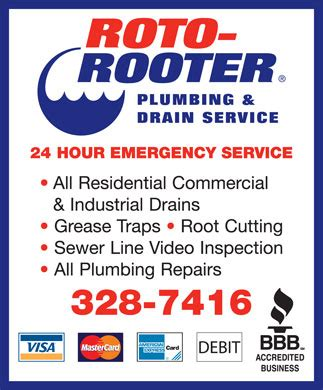 Lethbridge Plumbing by Roto Rooter Sewer Drain Cleaning Service Po Box 69 Stn