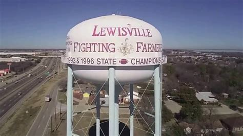 Water Tower Lewisville Texas Youtube