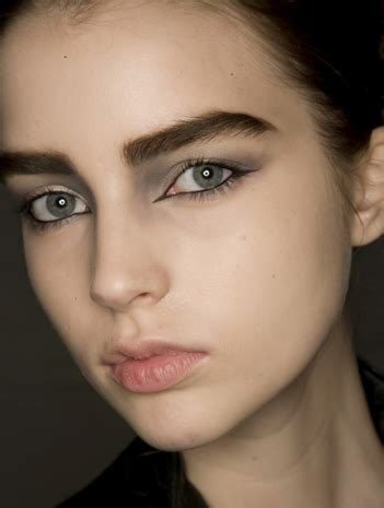 dark eyebrow trend the hottest makeup and hair trends from new york fashion