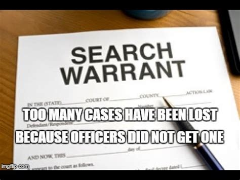 Writing Search Warrants Quot Officer Quot Tips Exles Of Writing A Search Warrant Real Search Warrants