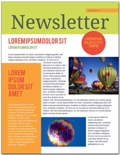 good newsletter layout exles how to make a newsletter lucidpress