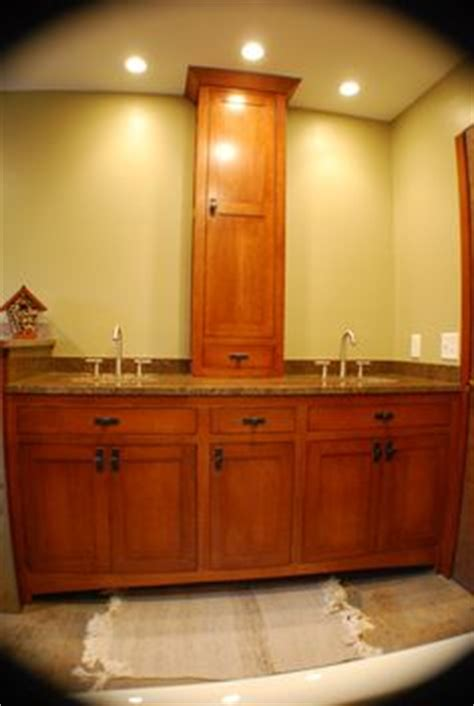 quarter sawn oak bathroom cabinets quarter sawn oak mission style vanity matching linen