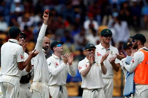 bookmyshow raigarh india vs australia nathan lyon puts virat kohli s team to
