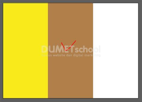 cara membuat curan warna menjadi coklat cara membuat brosur lipat 3 kursus desain grafis