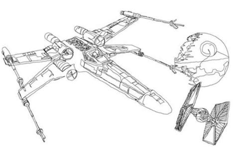 x wing starfighter coloring page star wars coloring pages x wing movie coloring pages