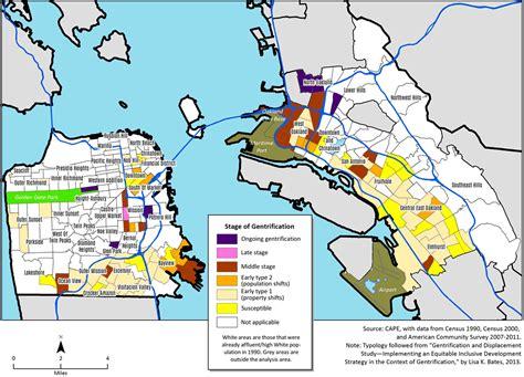 san francisco gentrification map socketsite the gentrification of san francisco and