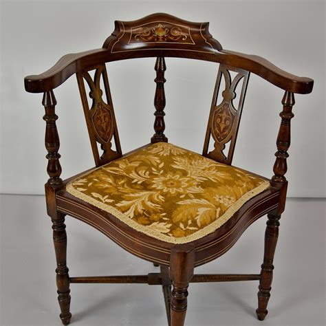 edwardian corner chair johncowderoyantiques co uk