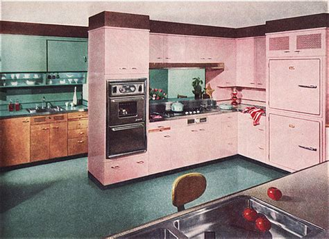 st charles kitchen cabinets 1955 st charles kitchen in pink turquoise flickr