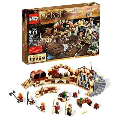 Toys Lego The Hobbit The Battle Of The Five Armies 79020 lego hobbit 79004 escape in the barrels lego hobbit lord of the rings construction toys