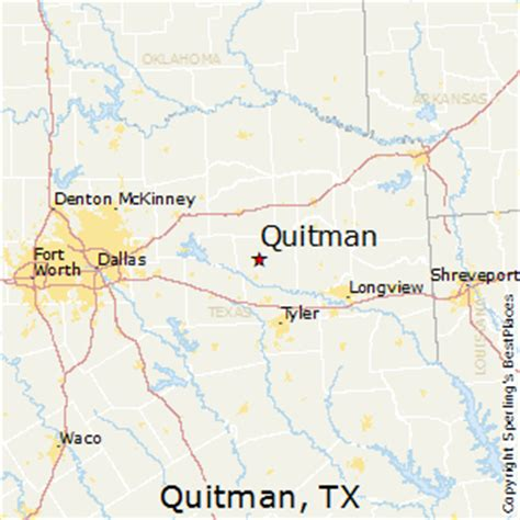 quitman texas map best places to live in quitman texas
