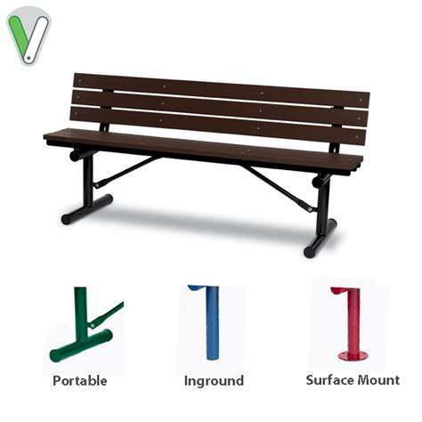 valley bench commercial outdoor benches with back green valley
