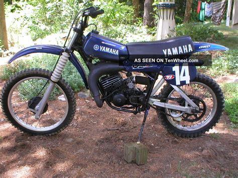 vintage yamaha motocross bikes yamaha 1979 yz125 dirt bike vintage moto cross ahrma yz