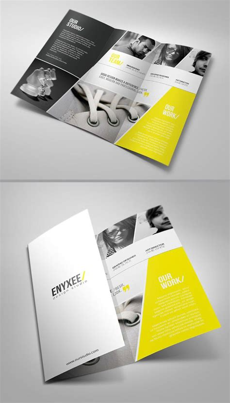 design your leaflet brochure layout and design brochure design pinterest