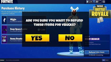 are fortnite refunds back new information suggests the fortnite battle royale refund