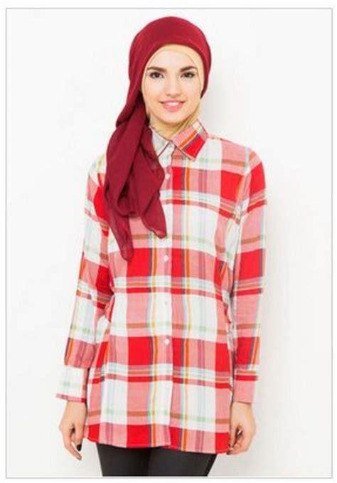 desain kemeja muslimah baju wanita muslimah busana muslim sederhana pinterest