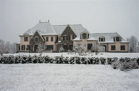 2 Story Home Plans a look at some mansions in the snow homes of the rich