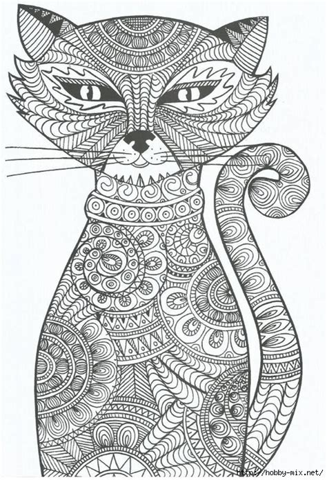 mandala coloring pages cat free coloring pages of cat detailed mandala