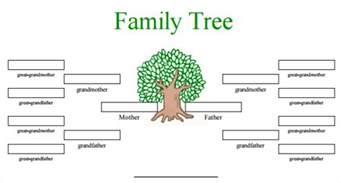 template for family tree word blank family tree template 31 free word pdf documents