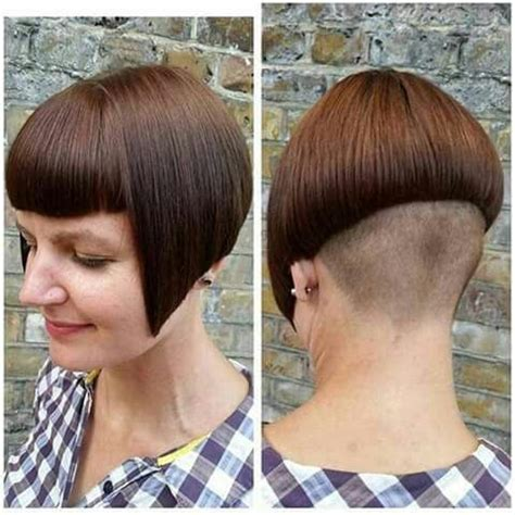 bob haircut with shaved nape part 537 best shaved nape images on pinterest bob hairs