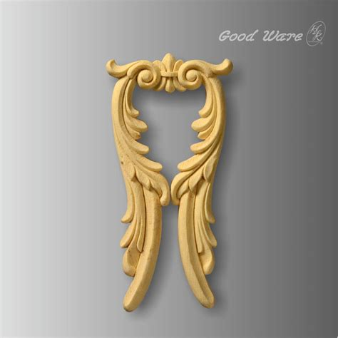 faux wood decorative furniture trim  sale applique