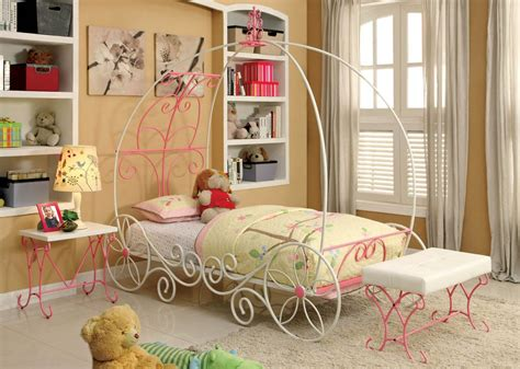 twin size princess bed princess carriage twin size bed