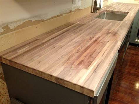 Cleaning Wood Countertops by How I Protect And Clean My Butcher Block Counters