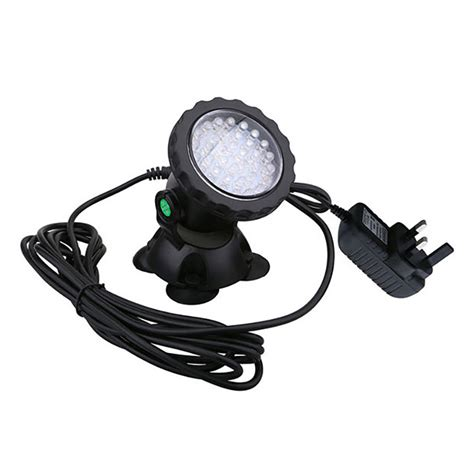 led underwater spot light 36pcs led aquarium spot light fish tank flood lighting