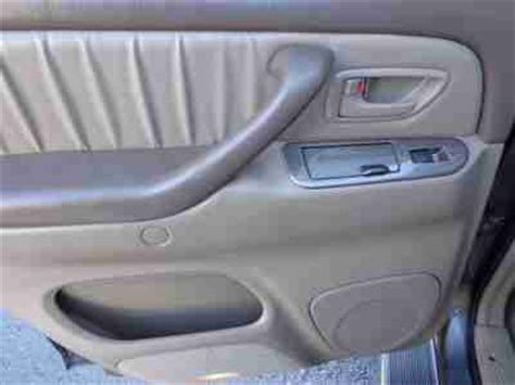 toyota sequoia limited captains chairs purchase used limited 4 7l cd captain chairs 2 auto