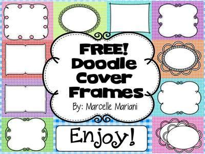 doodle font free commercial use free cover pages doodle borders frames set 2 commercial